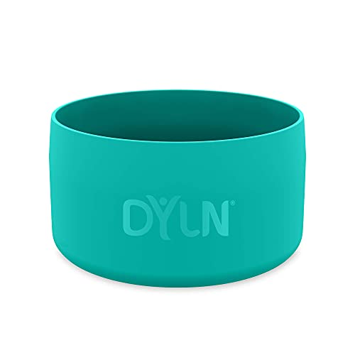 DYLN Protective Silicone Medium Bottom Guard for 32 oz DYLN Wide Mouth Alkaline Water Bottles - Anti-Slip & Flexible Boot - Doubles as a Pet Dog Bowl - Aqua Teal