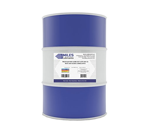 Miles Qs Way Lube Ext Lite ISO 32 Way and Slide Lubricant 55 Gallon Drum
