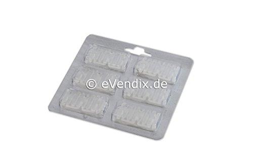 eVendix 6 Duftsticks Duftchips Duftstäbchen geeignet für Vorwerk Kobold und Tiger Staubsauger, sorgt für angenehmen Duft beim Staubsaugen
