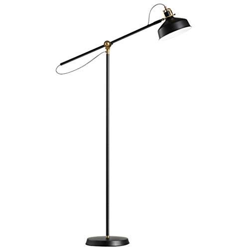 SXRKRZLB Lámparas de pie Simple Moderno sofá lámpara lámpara de pie nórdico Americano Retro Creativo Vertical Sala de Estar Dormitorio Estudio lámpara de Noche