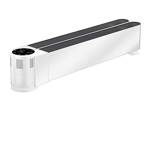 Yongenee Calentador de zócalo de la placa base del calentador de interior casero Suelo Radiante inteligente de frecuencia calentadores velocidad de conversión termoeléctrica plegable de calefacción Co