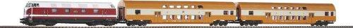 Piko 57135 - H0 Start-Set Doppelstockzug DR Epoche IV