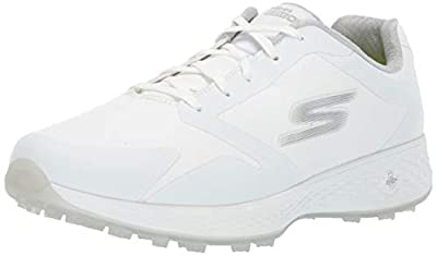 Skechers Women's Eagle Relaxed Fit Golf Shoe, White, 11 M US