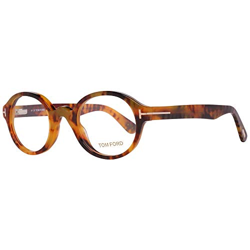 Tom Ford FT5490 46056 Tom Ford Optical Frame FT5490 056 46 Rund Brillengestelle 46, Braun