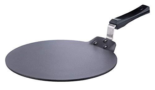 Hawkins Futura Nonstick Aluminium Dosa Tawa, 30cm, Black
