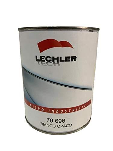LECHLER Farbe Weiß matt Nitro Industrie LT1 79 696 1 Liter Karosserie