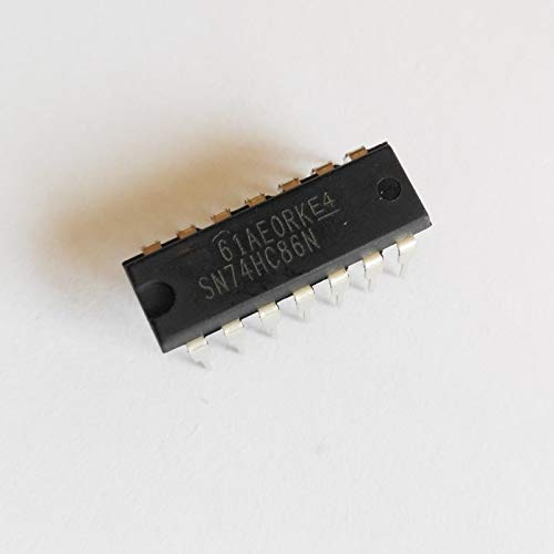 MAO YEYE 50pcs/lot DIP SN74HC86N 74HC86N 74HC86 2 Input Four XOR Gate DIP-14 Logic IC 74 Series