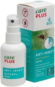 Care Plus 32623 Anti-Insect Natural 30% Citriodiol Spray (100ml) - Makes Use of Natural Extracts of the Lemon Eucalyptus to Repel Mosquitoes, Ticks and Other Biting Insects