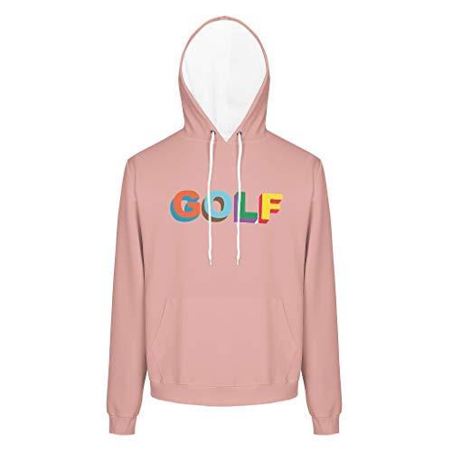 O2ECH-8 golf gedrukt heren hoodie junior boyfriend-stijl - golf-liefhebbers pullover comfort sportblouse