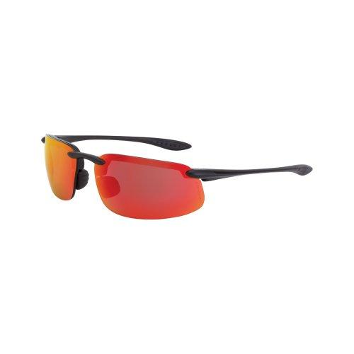 Bullhead Safety Eyewear BH106120 Swordfish Readers Clear Lens Matte Black Frame 2.0 Diopter 1 Pair PRO HERO