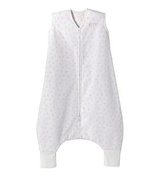 HALO Sleepsack Early Walker Micro-Fleece Mini Hearts Pink Size Large