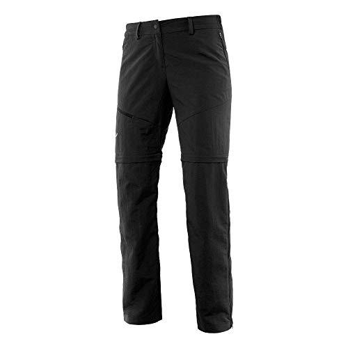 Salewa Isea Dry W 43497 Pantalon Femme, Nero (Black Out), 48/42