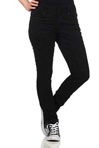 Preisvergleich Produktbild Buena Vista Jeans Hosen Damen Tummyless Stretch Denim - Black - schwarz (S)