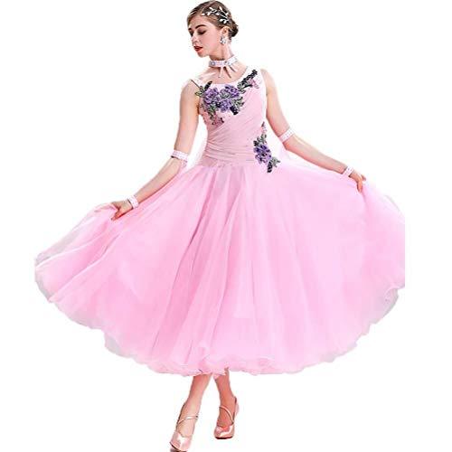 Ropa De Vestir Tango Vals Modern Dance Vestido De Señora Norma De...