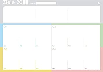weekview TinyPad Woche Der Block f/ür die smarte Wochenplanung