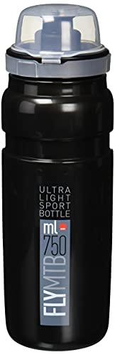 Elite Fly MTB 750 ml, color negro, tamaño 750 ml