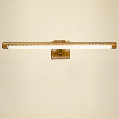 DSJ Spiegel licht spiegel voorlicht LED badkamer retro eenvoudige Nordic badkamer kast spiegel lamp wandlamp make-uptafel lamp, medium