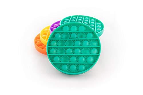 InsaneStore Push POP Finger Fidget (Grün) Kinder Spaß Spiel Fun Toy Antistress Stressabbau Geschenkidee