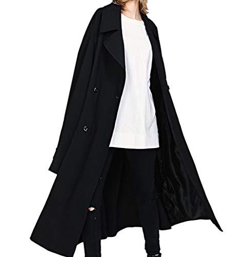 (ニカ) メンズ チェスターコート 秋 冬 柔らかい ロングアウター ファッション シンプル ハンサム ロングコート ゆったり 大きいサイズ 韓国風 オーバーコート お洒落モスグリーンT4