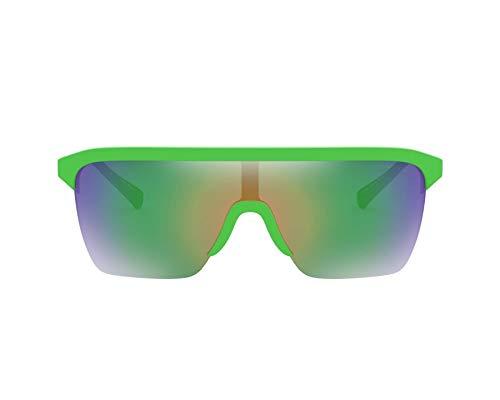 Emporio Armani Unisex 0EA4146 Sonnenbrille, Matte Fluo Green, 136 cm