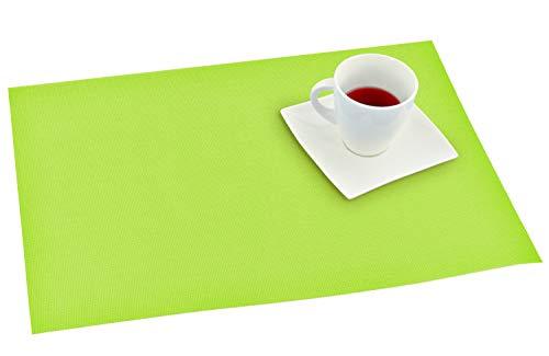 Tapis de sol en plastique lavable Vert, vert, Lot de 10