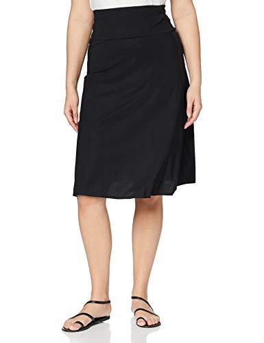 Filippa K High Waisted Jersey Skirt Gonna, Nero (Black), 44 (Taglia Produttore: Large) Donna