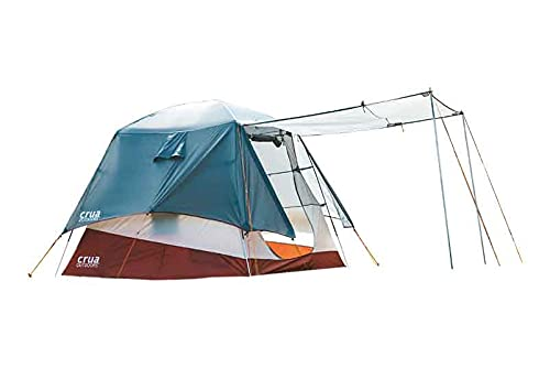 Crua Outdoors Xtent Combo Maxx 3 Person Modular System with Extendable Height Includes Tent and Inner Insulated Culla Cocoon