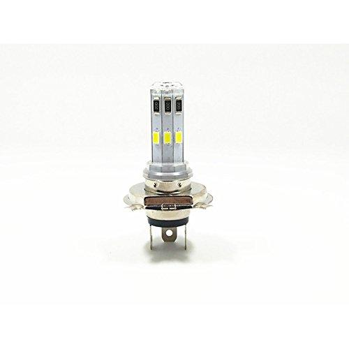 ZGMA H4 Moto Ampoules électriques 9W COB 600lm White Spot