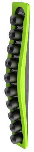 Tavola Swiss Capstore - Contenitore per Capsule Nespresso Wave 10', Colore: Verde
