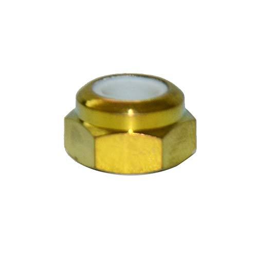 QFDM Durable Nut 10 PCS M4 M5 M6 M8 M10 M12 Titanio Titanio