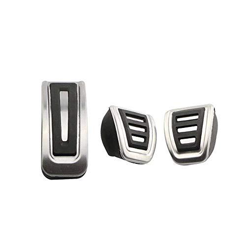 SAXTZDS Cubierta de Pedales de Pedal de Coche, para VW Golf 3 4 Polo 9N3 para Skoda Octavia Fabia para Seat Ibiza para Audi TT Pedale A1 A2 A3 GTI