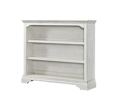 Fantastic Deal! Westwood Design Olivia Convertible Hutch Bookcase, Brushed White
