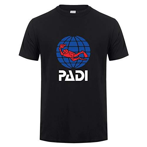 DSFG PADI T Shirt Summer Short Sleeve Cotton Scuba Driver padi T-Shirt Mans Tshirt Tops Tees
