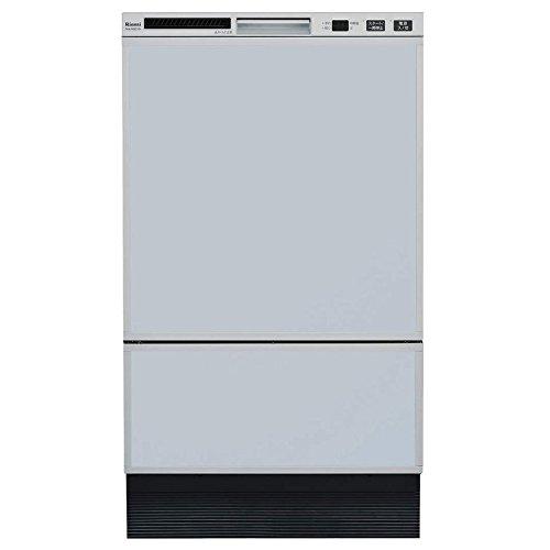 リンナイ フロントオープンタイプ ビルトイン食器洗い乾燥機 RSW-F402C-SV シルバー