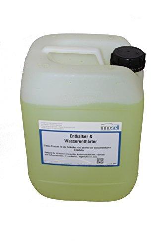 Innosell Wasserenthärter Entkalker Kalkschutz Kalkablagerungen an Heißwassersystemen Konzentrat 10L