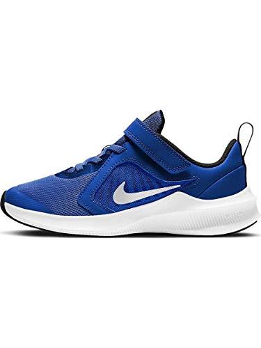 Nike Downshifter 10 PSV Scarpa Unisex Bimbo Azzurro, 28