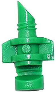 LZDD 80pcs Refraction spray nozzle drip tape irrigation mist spray nozzle 90 180 360 degree plant sprayer WATER SPRAY To g...