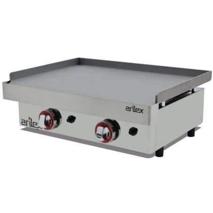 Plancha a gas ARILEX en acero laminado de 6 mm con medidas 610x457x240h mm 60PGL
