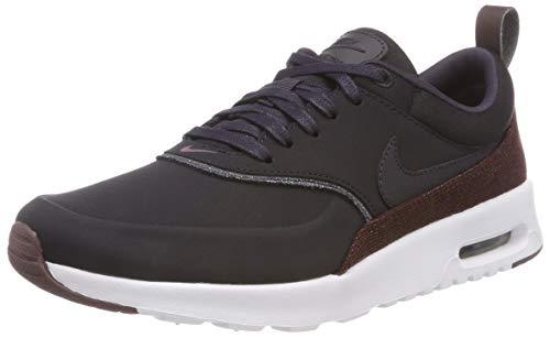 Nike Wmns Air MAX Thea PRM, Zapatillas para Mujer, Gris (Oil Grey/Oil Grey-Metallic Mahogany 025), 36.5 EU