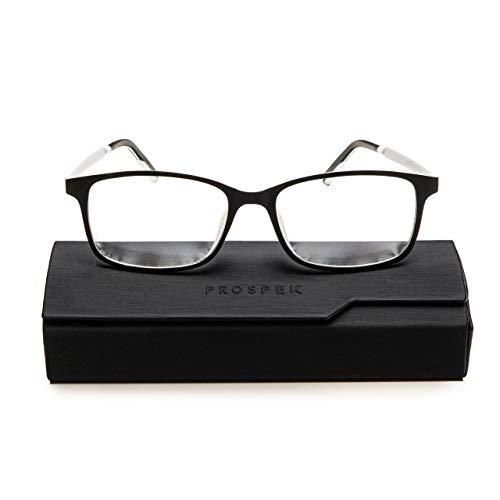 PROSPEK:ARCTIC Blaulichtblockierende Brillen bieten Augenentlastung. Erleben Sie brillante Farben und schützen Sie Ihre Augen mit der einzigen Computerbrille mit CLEARX Technologie (+0.50 Dioptrien)