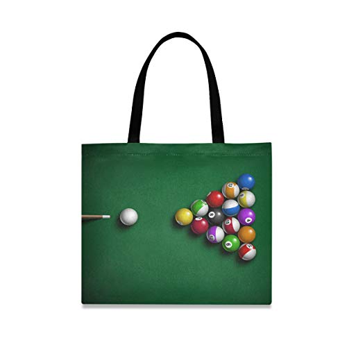 XiangHeFu Mode große Kapazität Billardkugeln Casual Einkaufstasche Wiederverwendbare Lebensmittelhandtasche