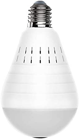 YeBetter LED Light 960P Wifi Camera 360 degreePanoramic Home Security WiFi CCTV Two Way Audio Fisheye Bulb Camera