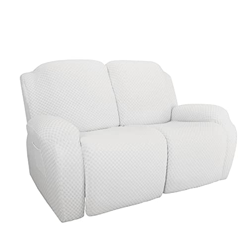Sofa Protective Slipcover Cover for 2 people, Stretch All-inclusive Rocking Sofa Cover, 2021 The Newest Sofa Water Resistant Couch Cover Furniture Protector for Kids Pets, Non Slip Couch Slipcover