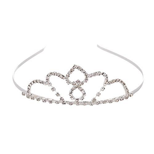 Couronne de mariée Cristal Coeur Amoureux Hairband Noble Cerceau Accessoires De Cheveux De Mariage