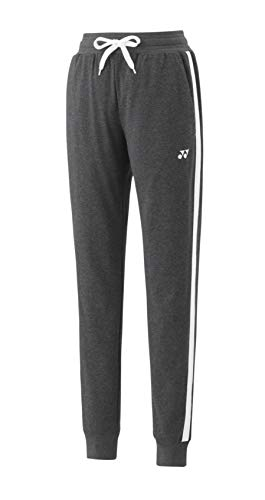 YONEX, Ladies Sweat Pants YW0014, dunkelgrau - dunkelgrau, M