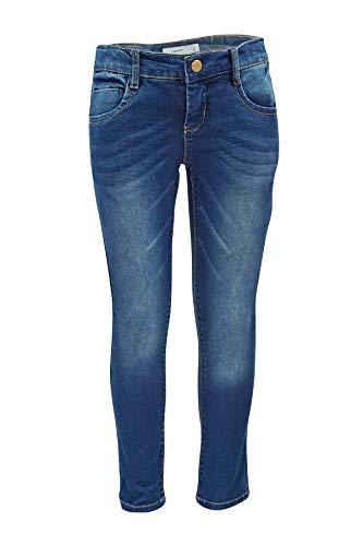 NAME IT Baby-Mädchen NKFROSE DNMTATIANA 3002 Pant NOOS Jeans, Blau (Dark Blue Denim), 98