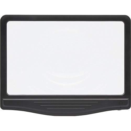 キングジム ライト付き 拡大鏡 AM50 黒