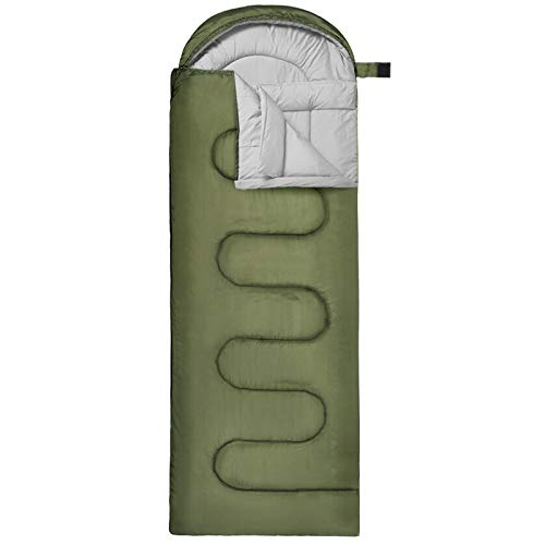 GIARIDE Camping Schlafsack Deckenschlafsäcke Ultraleichter Outdoor für Kinder, Jungen, Mädchen, Jugendliche & Erwachsene Wasserdichter Schlafsack 3 Jahreszeiten, Reisen, Wandern
