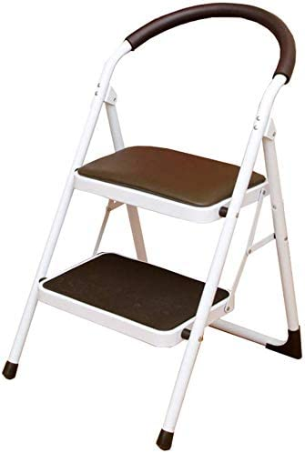 Special price for a limited time LYRR Portable Folding 2 Step Stool Kitchen Non Max 48% OFF Ladder