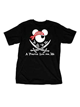 Disney Pirates of the Caribbean Inspired Adult T-Shirt